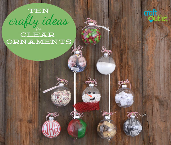 clear ornament craft ideas 10 crafty ideas for clear ornaments craft outlet 3664