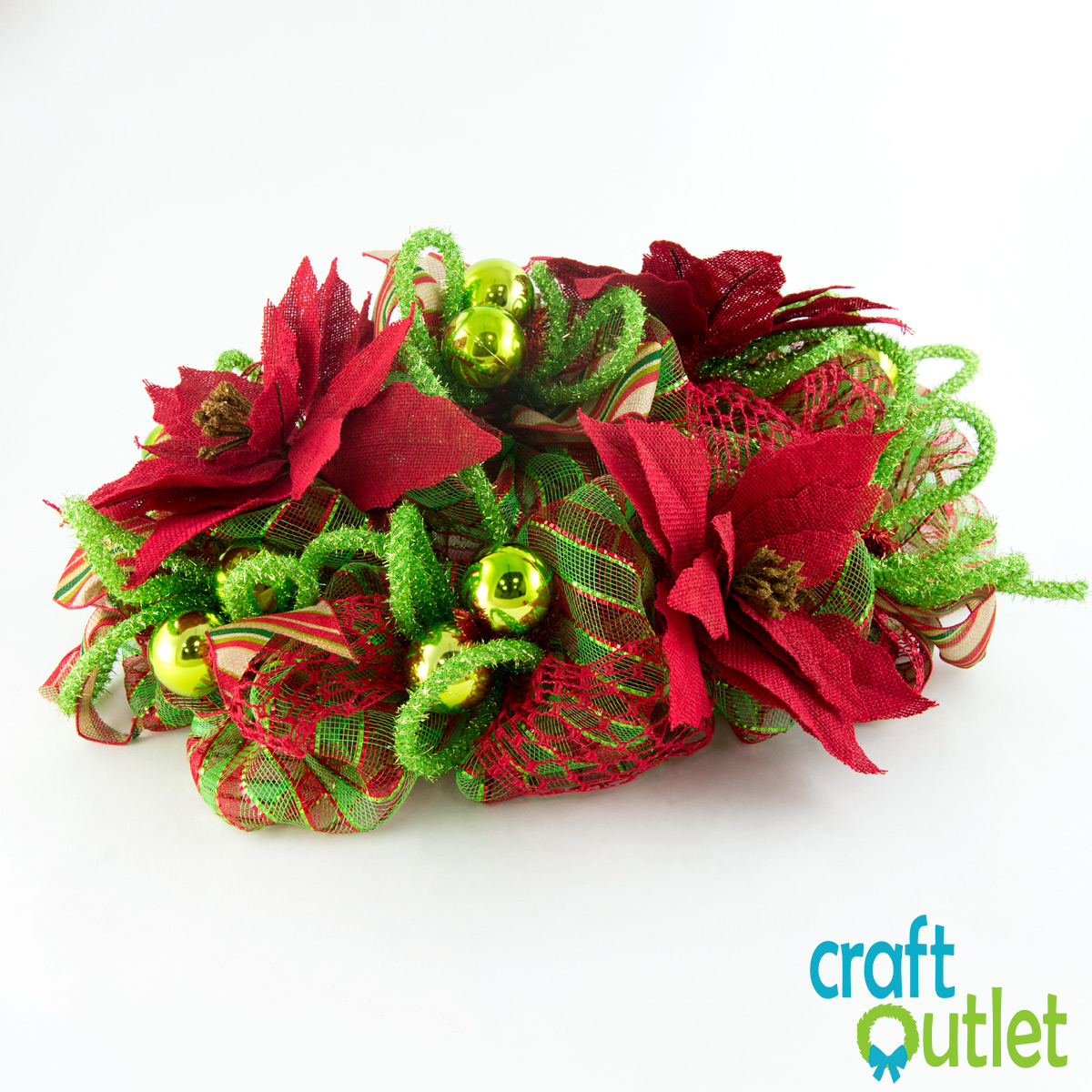 Making A Poinsettia Centerpiece Craft Outlet Inspiration