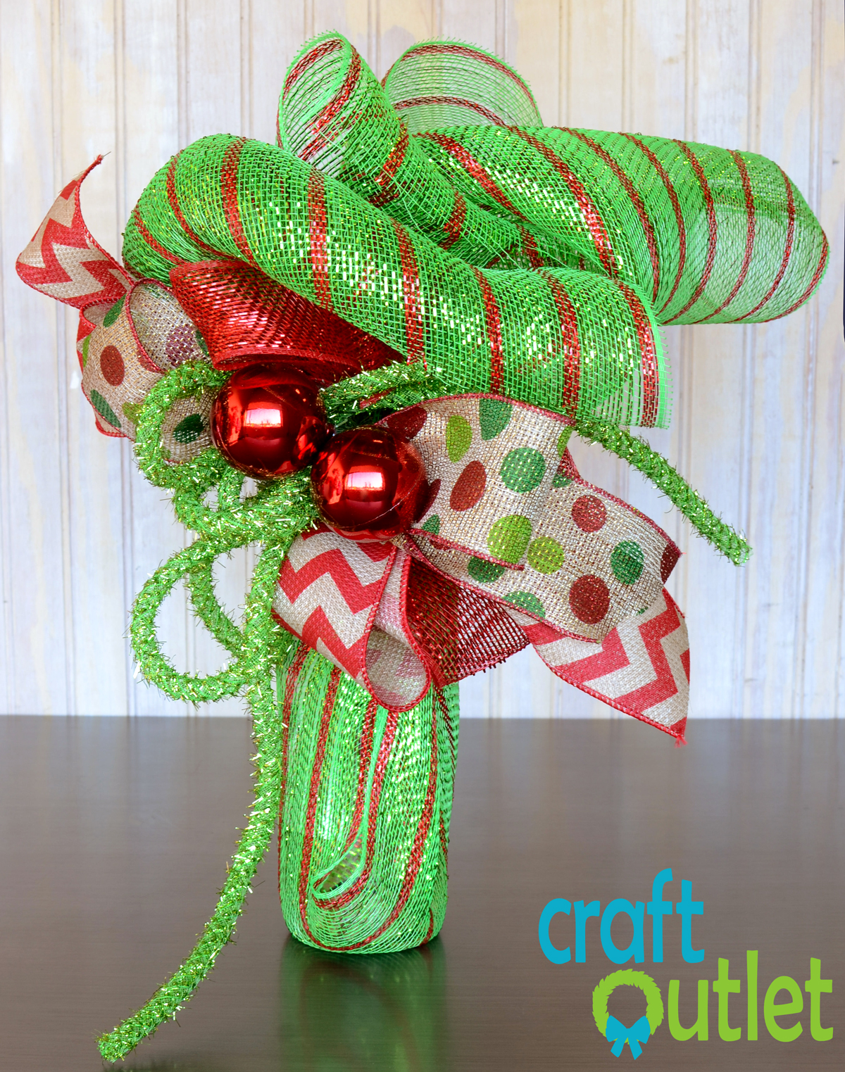 Deco Mesh Wine Gift Wrap Craft Outlet Inspiration