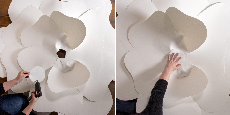 Giant Paper Flower Backdrop Craft Outlet Inspiration