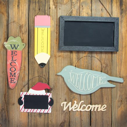 accent signs - Decorative Accents