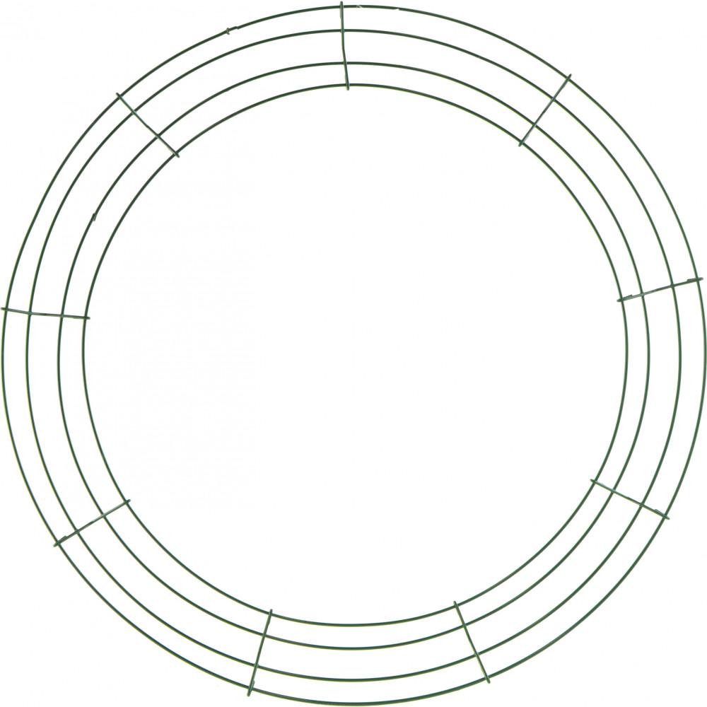 Box Wire Wreath Form 18 Inch Round 36006 Craftoutlet Com