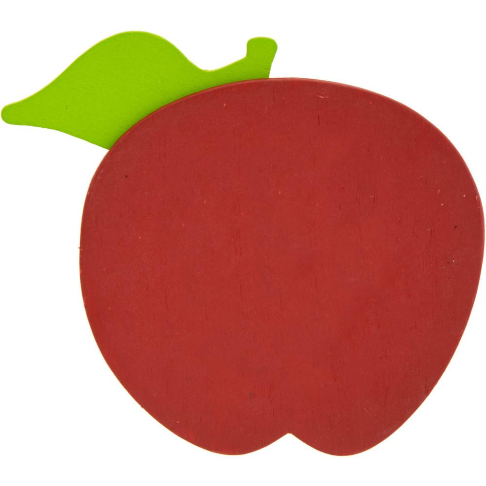 red apple slice. 5\ red apple slice