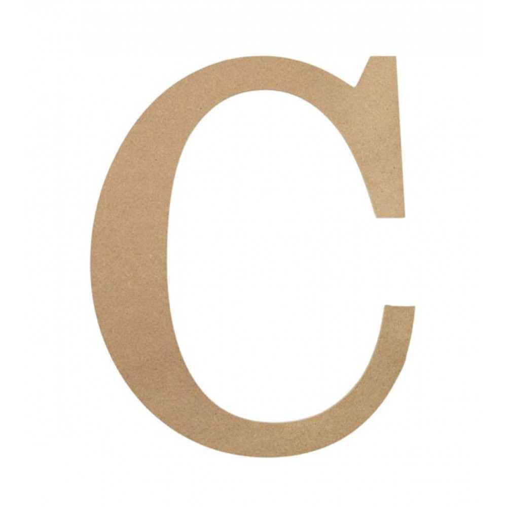 10 U0026quot  Decorative Wood Letter  C  Ab2027