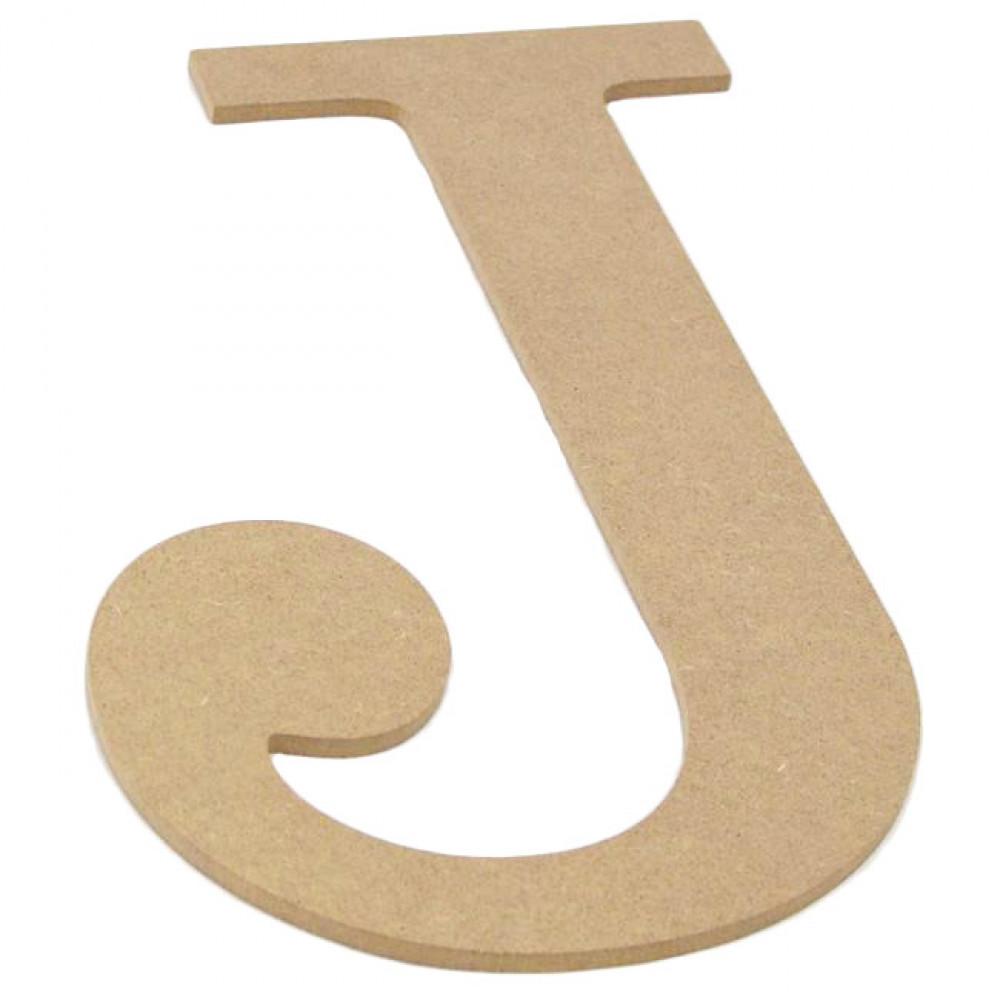 10 Decorative Wood Letter J