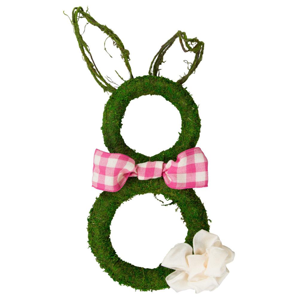 """10"""" Green Moss Wreath [KC1014] - CraftOutlet.com"""