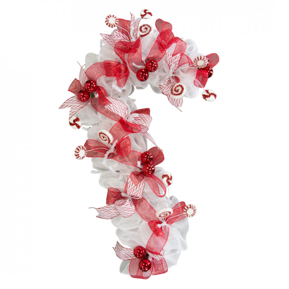 Candy cane wreath kit for Craft wreaths for sale