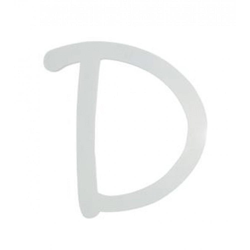 9 white wood script letter d u9188 d craftoutlet com