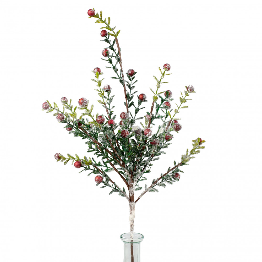 21 Boxwood Snow Berry Spray 272672 Craftoutlet Com