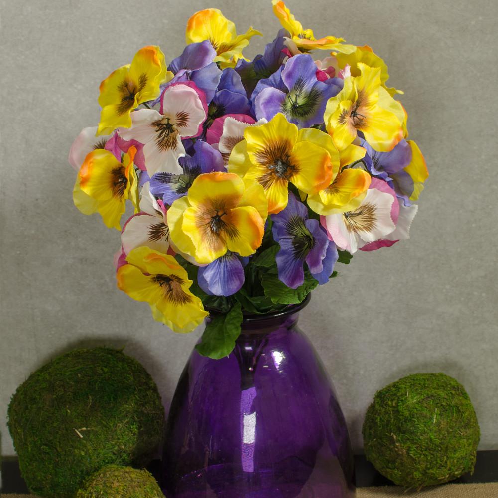 18 spring mix pansy bush 36 pink purple yellow 61510spmix 18 spring mix pansy bush 36 pink purple yellow mightylinksfo