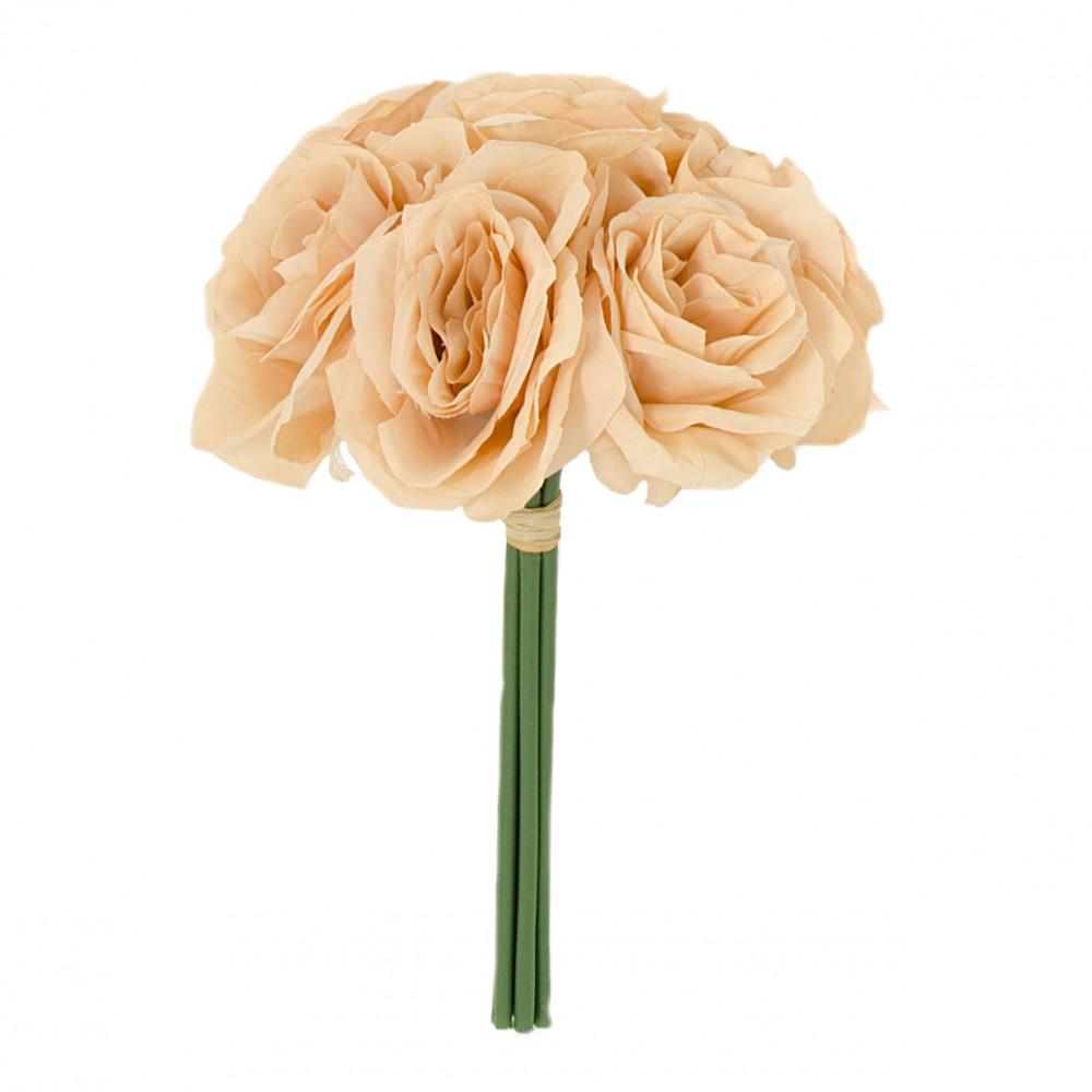 12 ashley rose bouquet 7 blush - Blush Garden Rose Bouquet