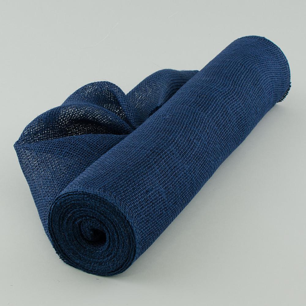 20 Quot Burlap Fabric Roll Navy Blue 10 Yards Jrh19 33