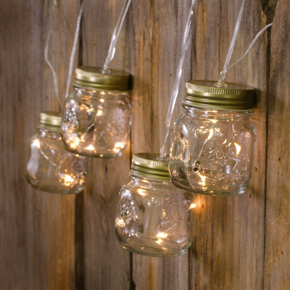 Mini Mason Jar String Lights (7.5 ) [G3625558] - CraftOutlet.com