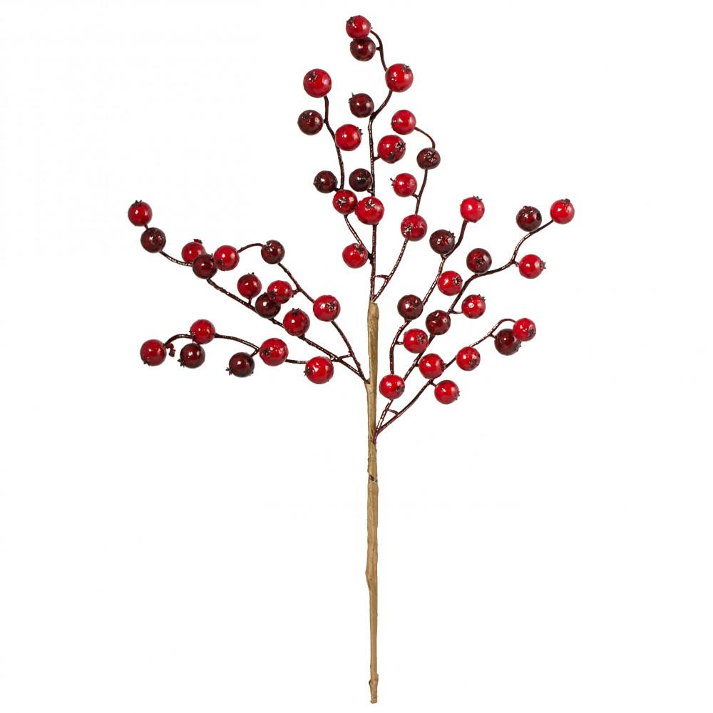 17 Red Berry Spray Matte Finish Ew006277 Craftoutlet Com