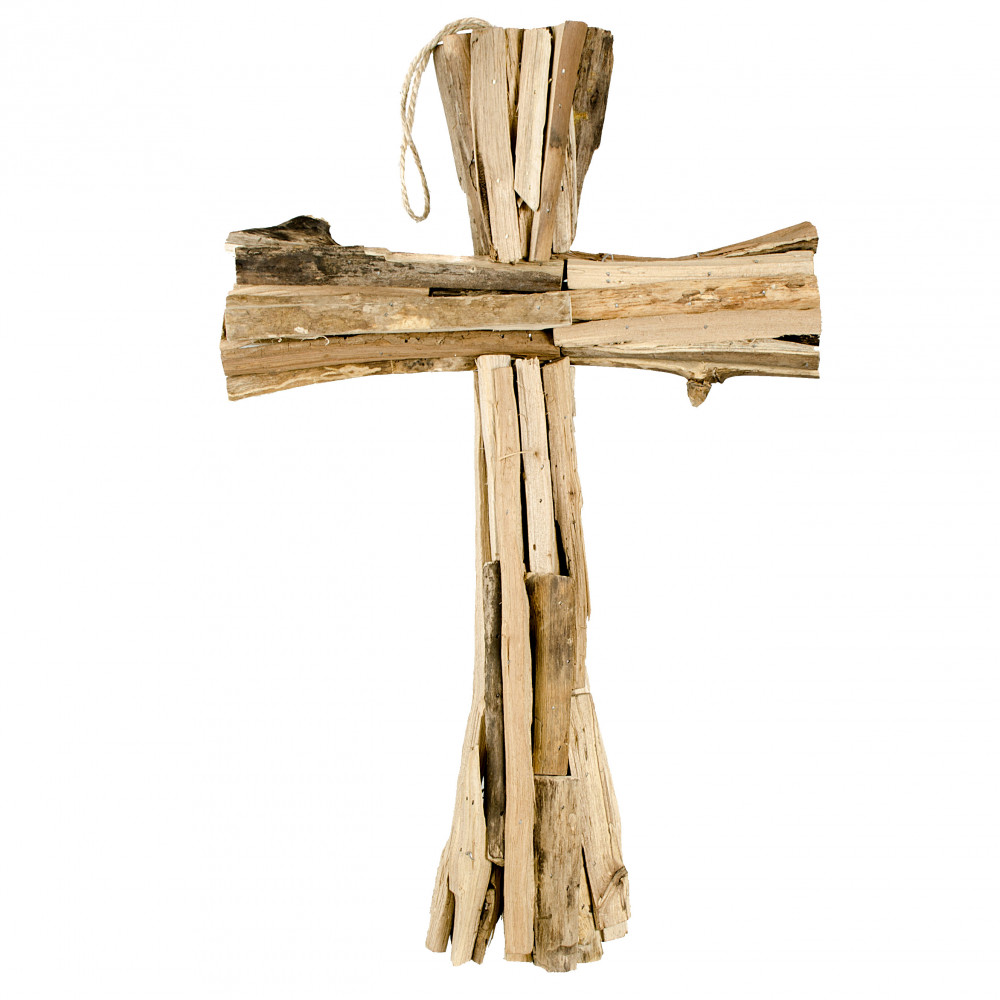 20 natural driftwood cross ab2303