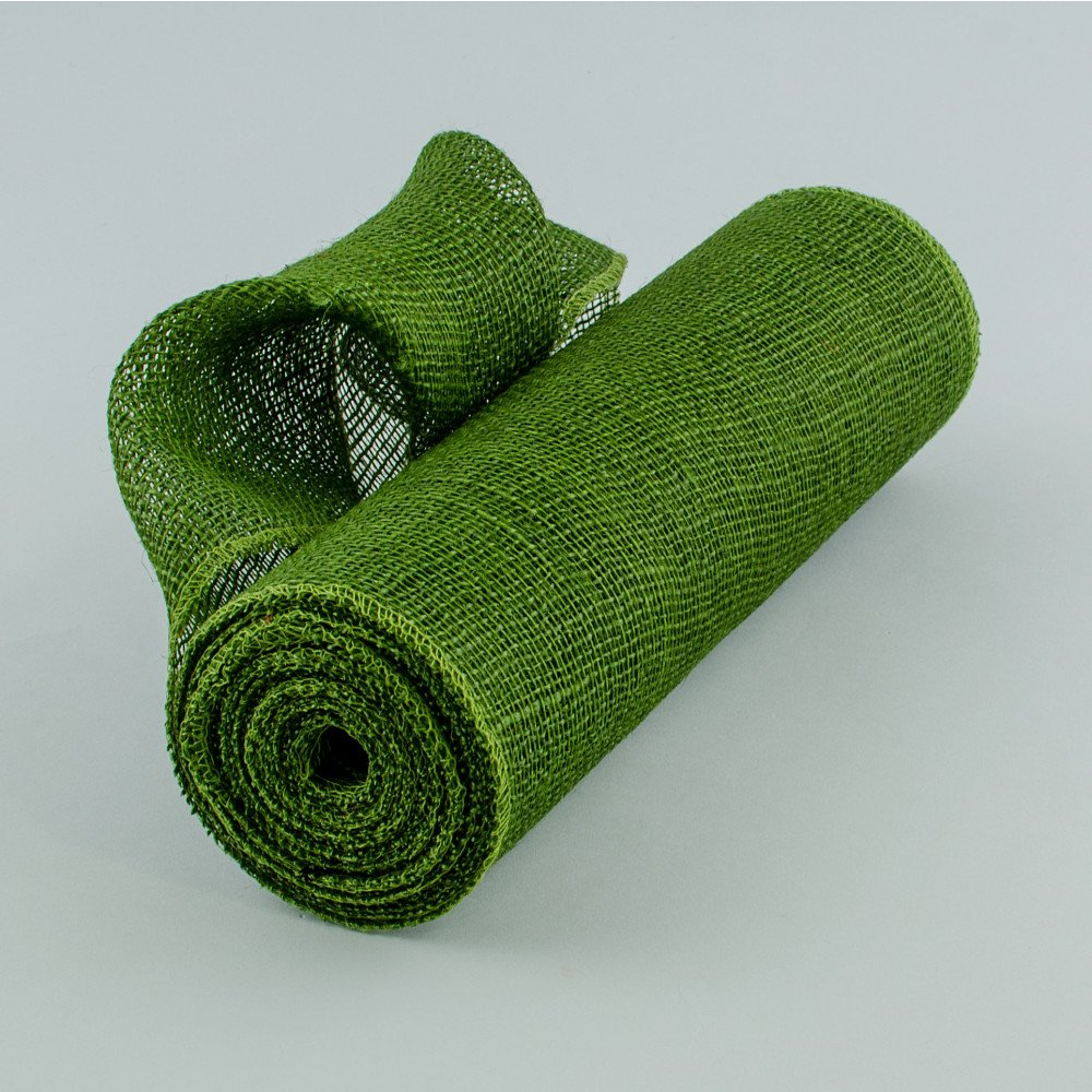 14 Quot Burlap Fabric Roll Olive Green 10 Yards Jrh14 09