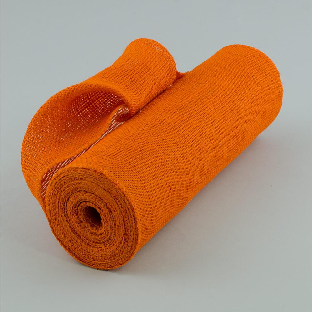 14 Quot Burlap Fabric Roll Orange 10 Yards Jrh14 21