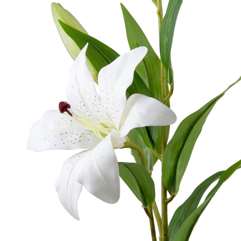 27 Quot Garden Lily Stem White 258182 Craftoutlet Com