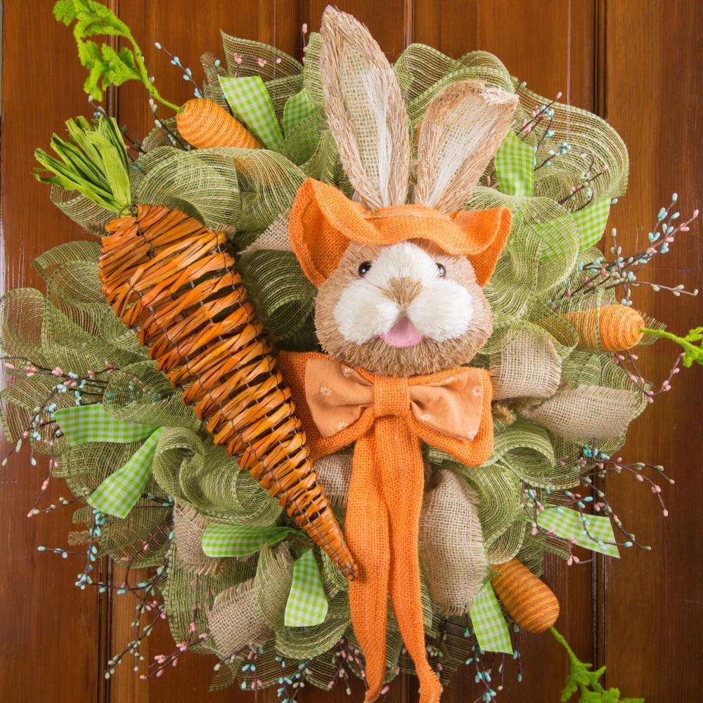19 Rattan Carrot Decoration 257747 Craftoutlet Com