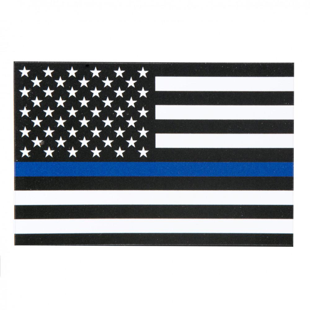Police Support Flag Magnet (4