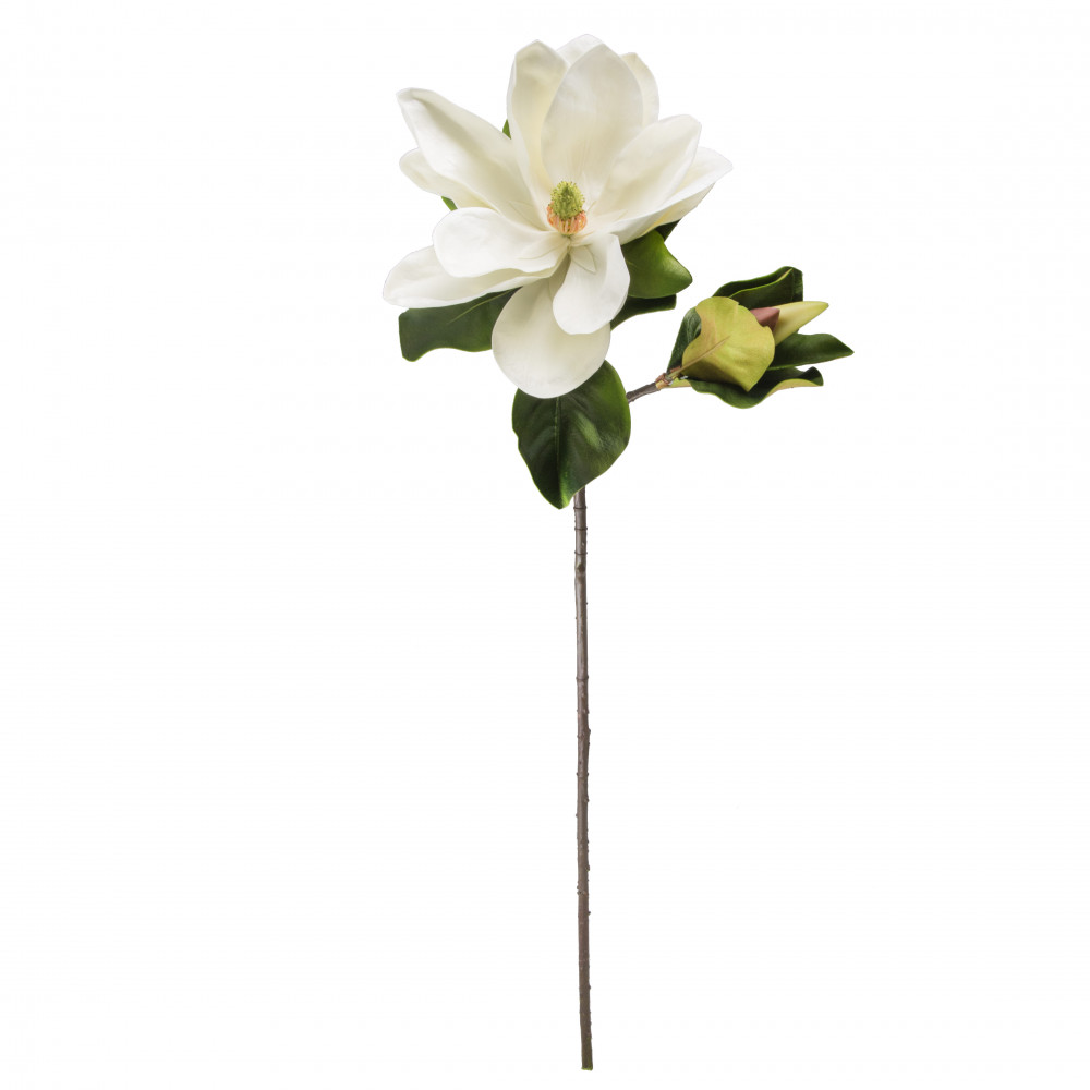 42 colossal magnolia flower spray white 2291025wh craftoutlet 41 colossal magnolia flower spray white mightylinksfo