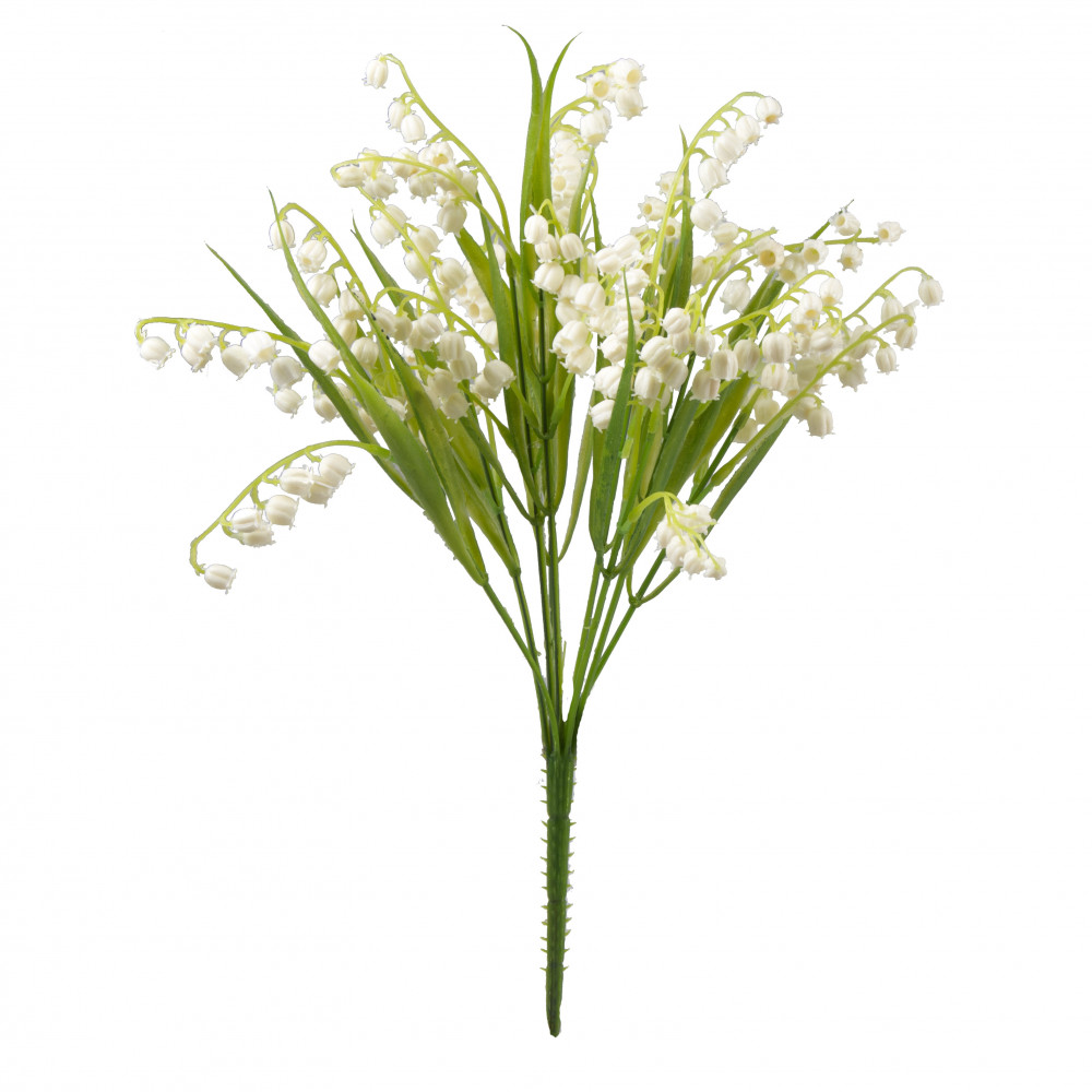 14 white lily of the valley bush 200628 craftoutlet 14 white lily of the valley bush izmirmasajfo