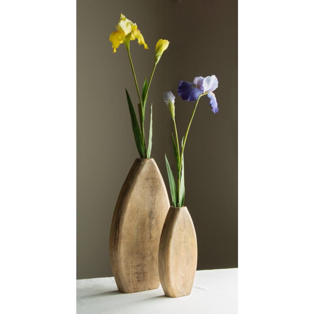 12 flat teardrop wood vase natural 256645 craftoutlet 12 flat teardrop wood vase natural reviewsmspy