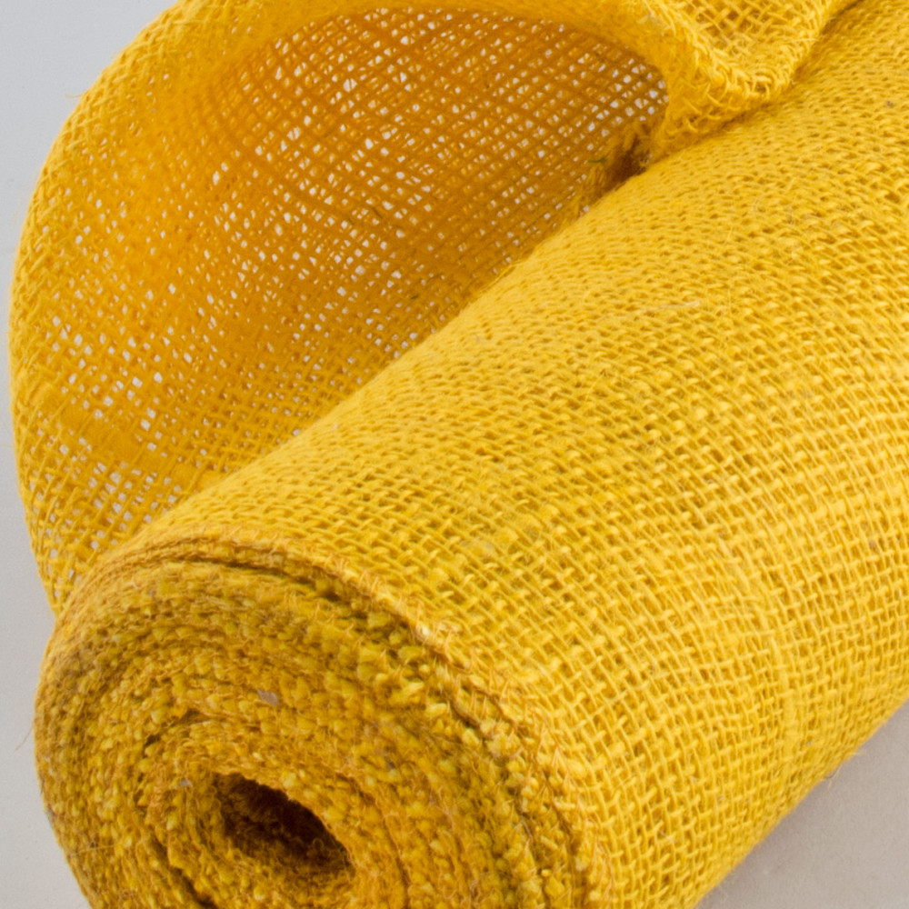 20 Quot Burlap Fabric Roll Sunflower Yellow 10 Yards Jrh19