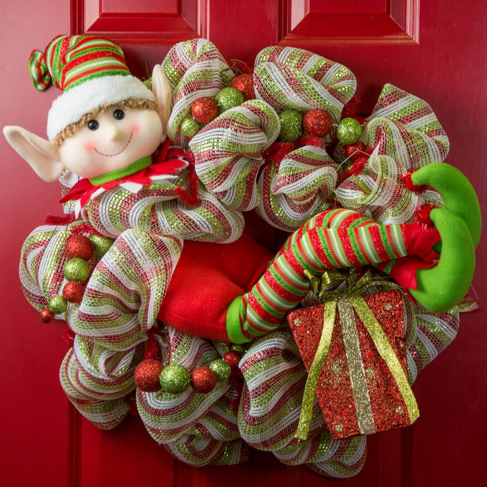 Jumbo Christmas Elf Decoration XC6103 - CraftOutlet.com