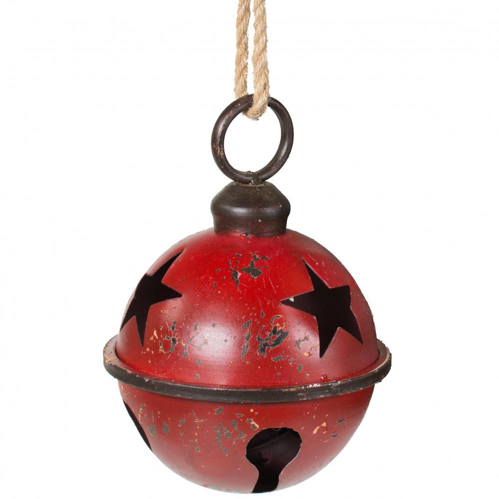 Christmas Bell.7 Jumbo Jingle Bell Red
