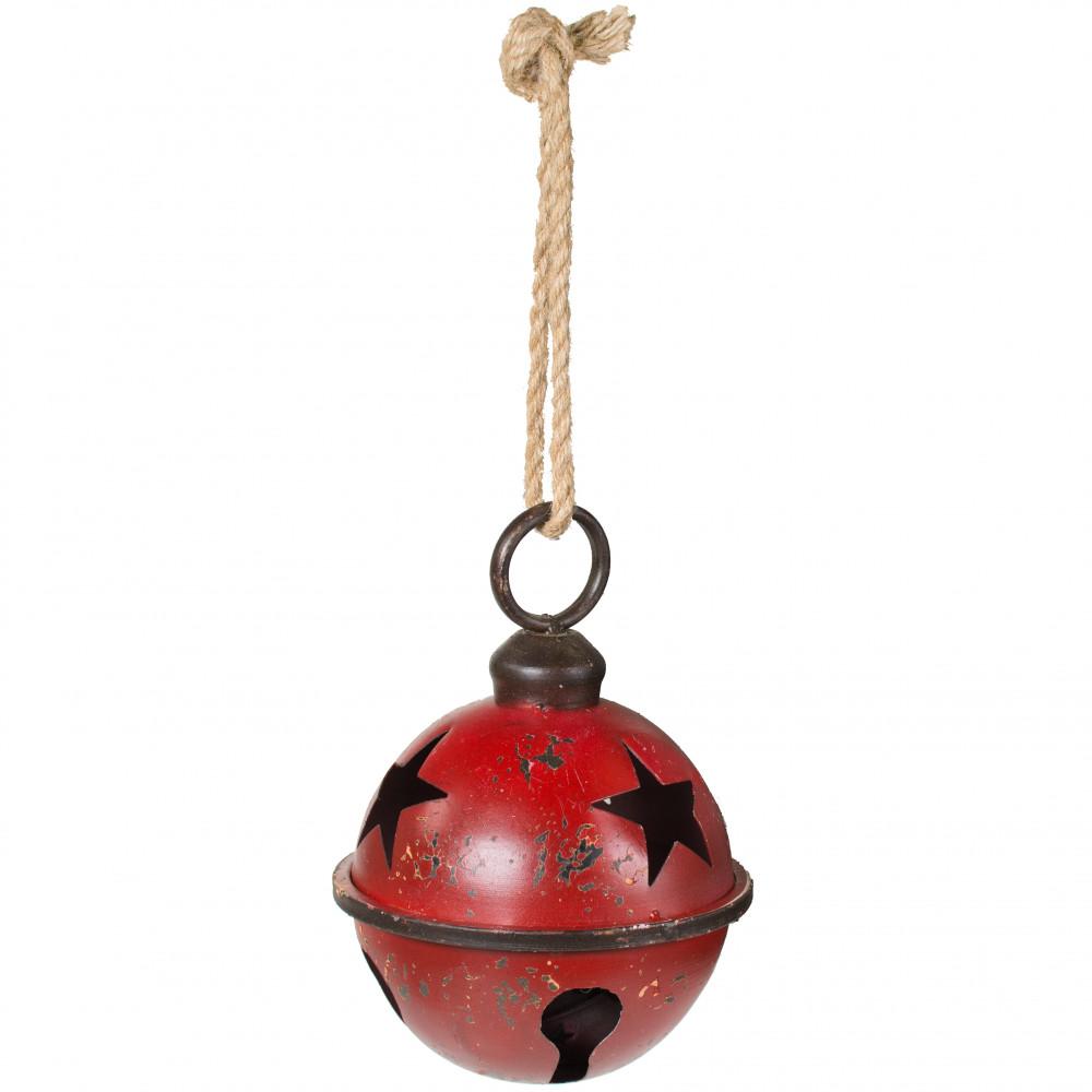 """7"""" Jumbo Jingle Bell: Red [XC422131]"""