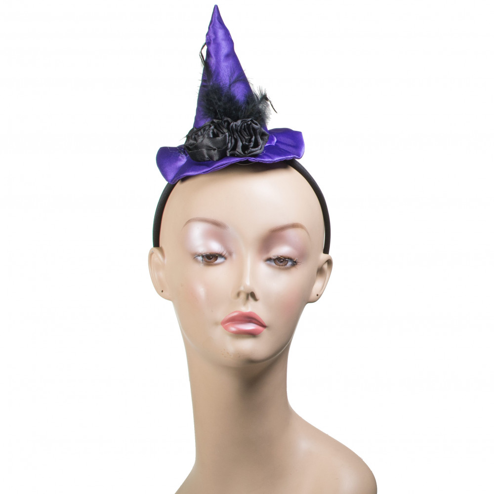Ultra Violet Mini Witch Hat