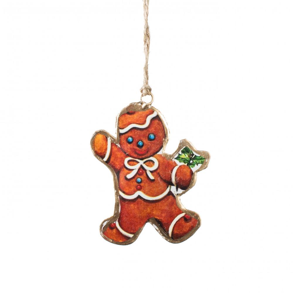 4 vintage christmas ornament gingerbread - Gingerbread Christmas Ornaments