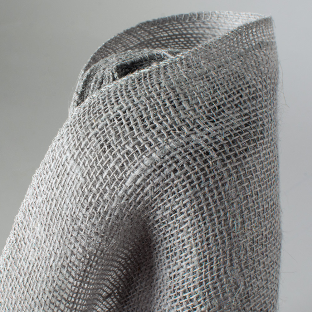14 Quot Burlap Fabric Roll Silver 10 Yards Jrh14 14