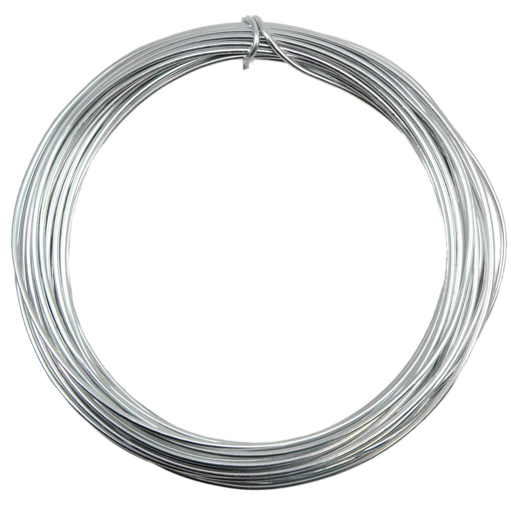 Aluminum Craft Wire 2MM: Silver (13 Yards) [MT103126] - CraftOutlet.com
