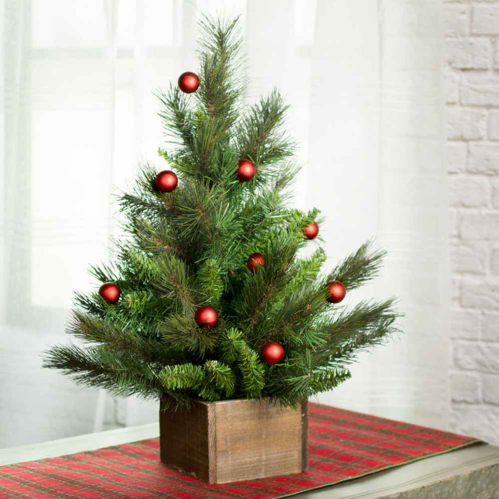 2\' Edmonton Fir Small Christmas Tree [XX6801] - CraftOutlet.com