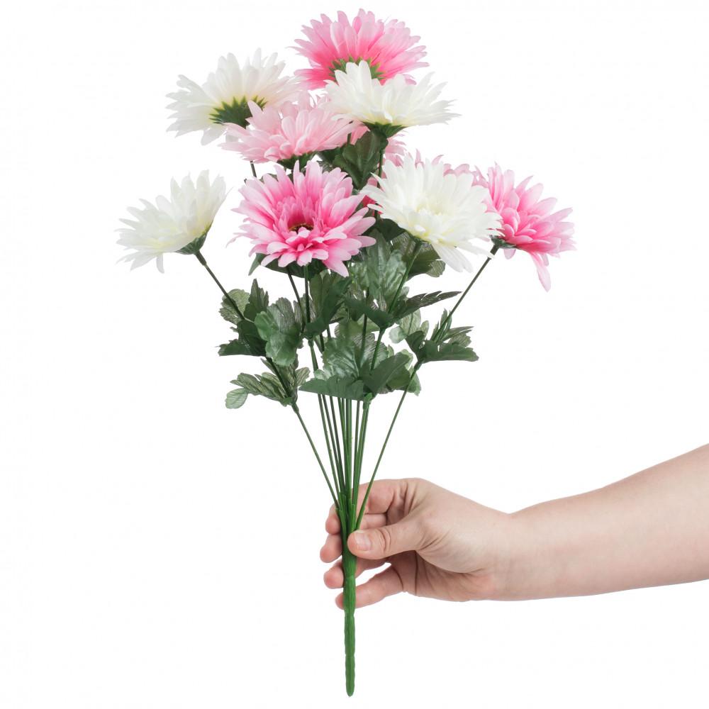 18 Gerbera Daisy Bush Pink Cream 12 30550pkcm Craftoutlet