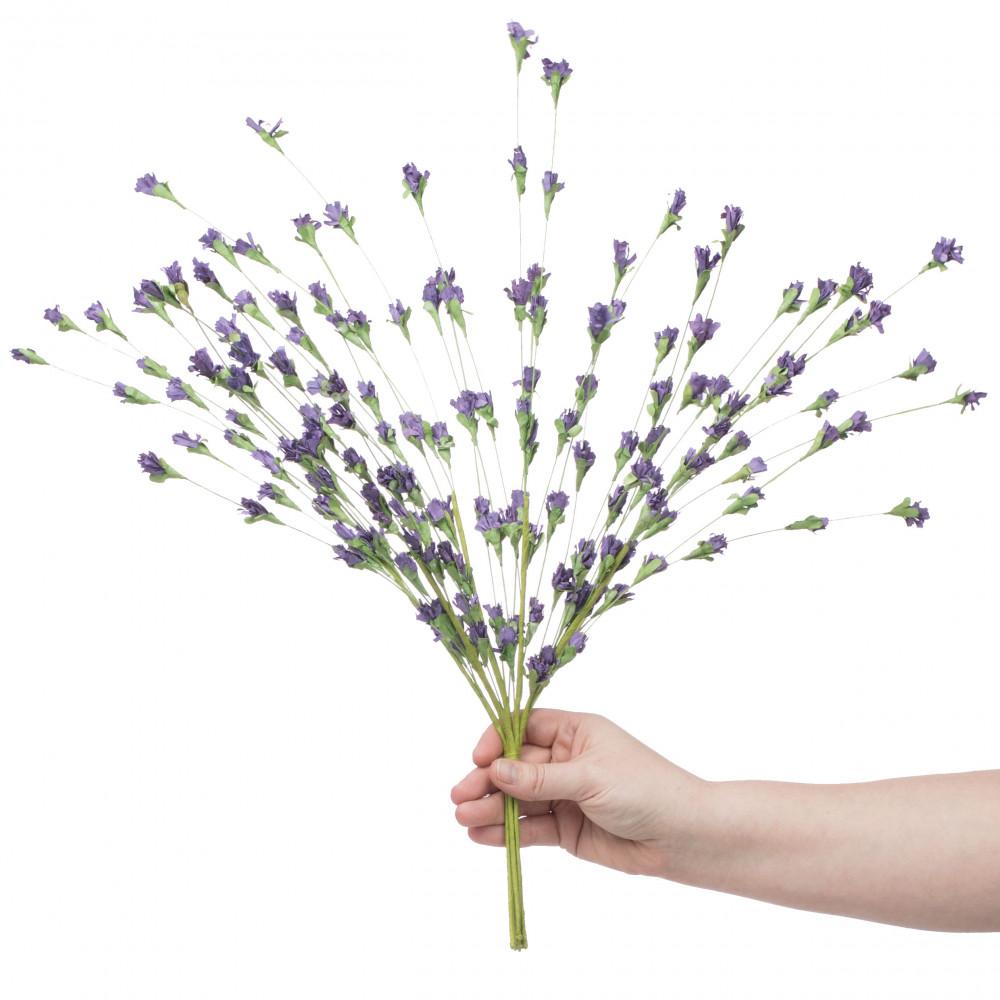 22 Lavender Paper Flower Bush Fn150113 Craftoutlet