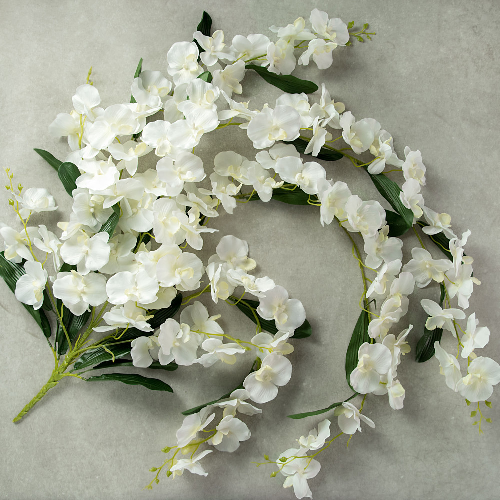 52 trailing white orchid bush 233583 craftoutlet 52 trailing white orchid bush mightylinksfo