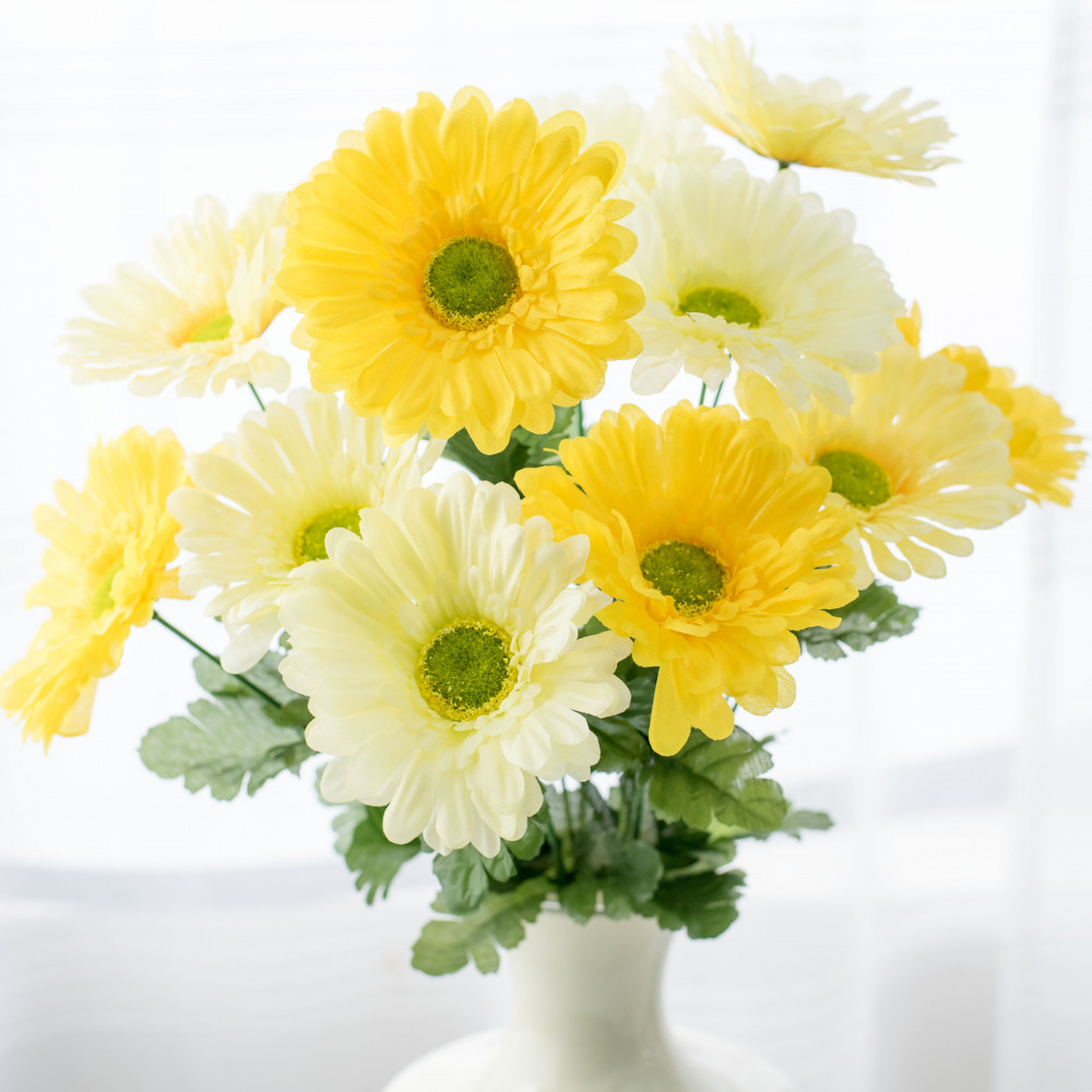 21 gerbera daisy bush yellow 12 267039 craftoutlet 21 gerbera daisy bush yellow 12 izmirmasajfo Images