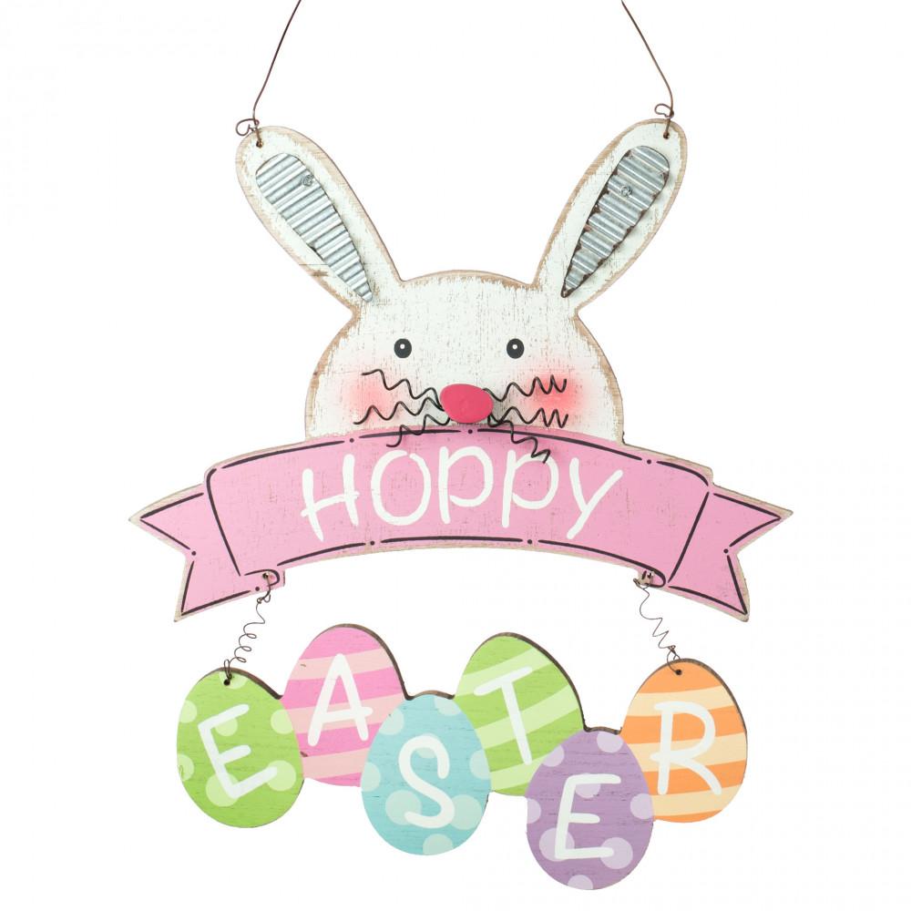 14 Hoppy Easter Bunny Sign 62198eas Craftoutlet Com