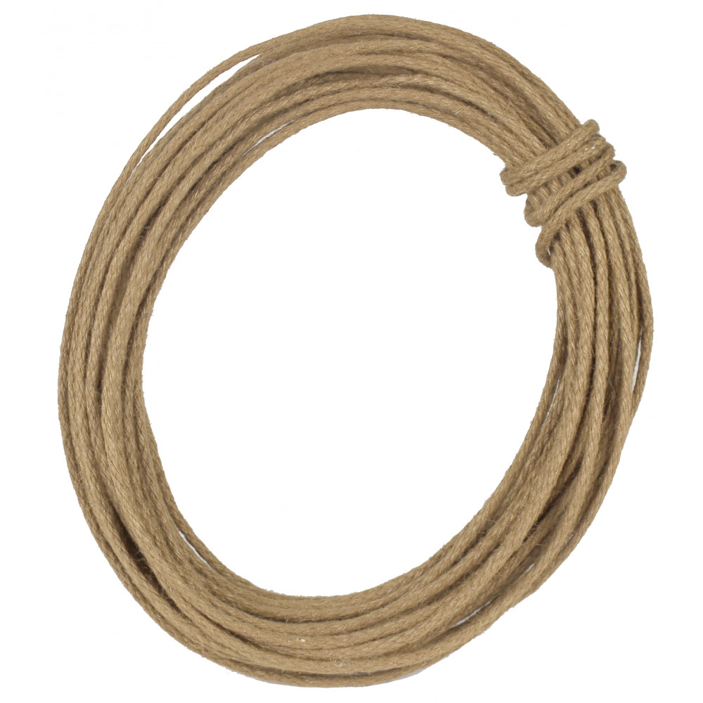 Wired Jute Rope: Natural [RD106018] - CraftOutlet.com