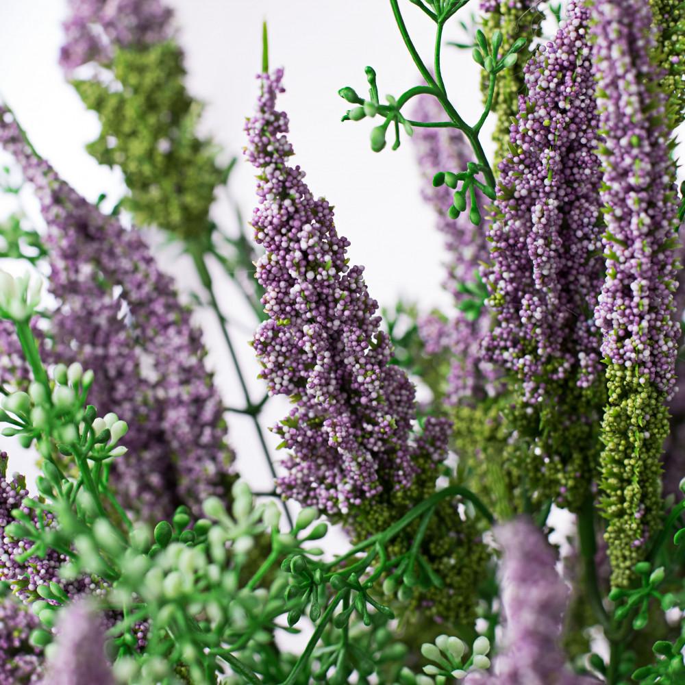 20 Astilbe Flower Bush Purple 30579lv Craftoutlet