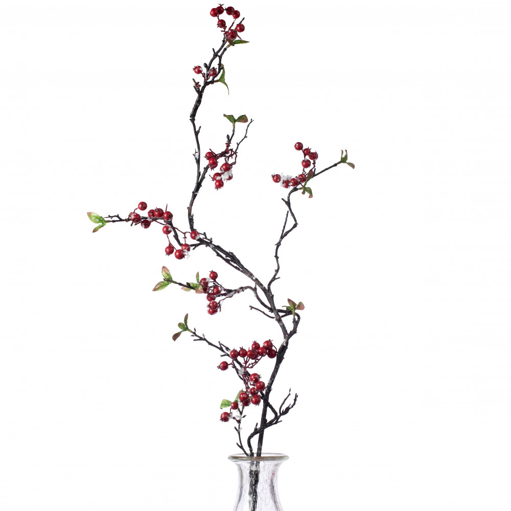38 Snow Berry Vine Spray Red 2827137rd Craftoutlet Com