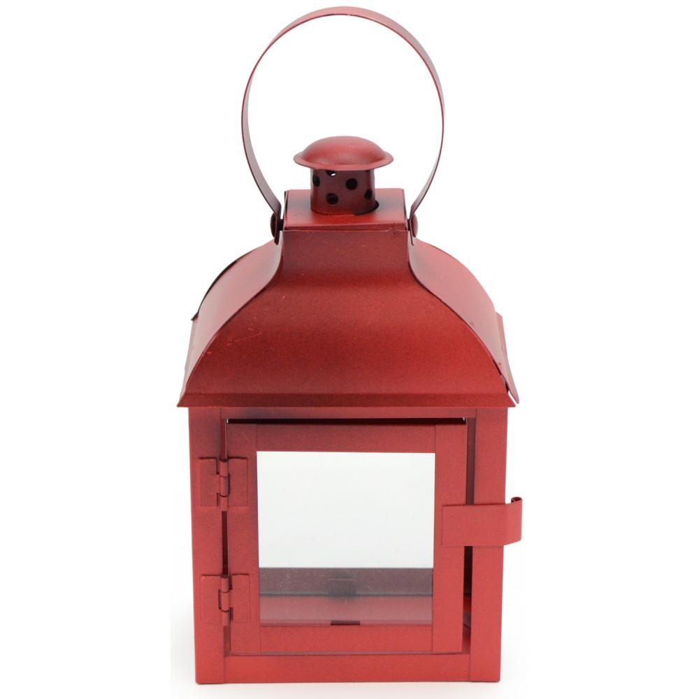 red metal lantern decoration 9 3350920. Black Bedroom Furniture Sets. Home Design Ideas