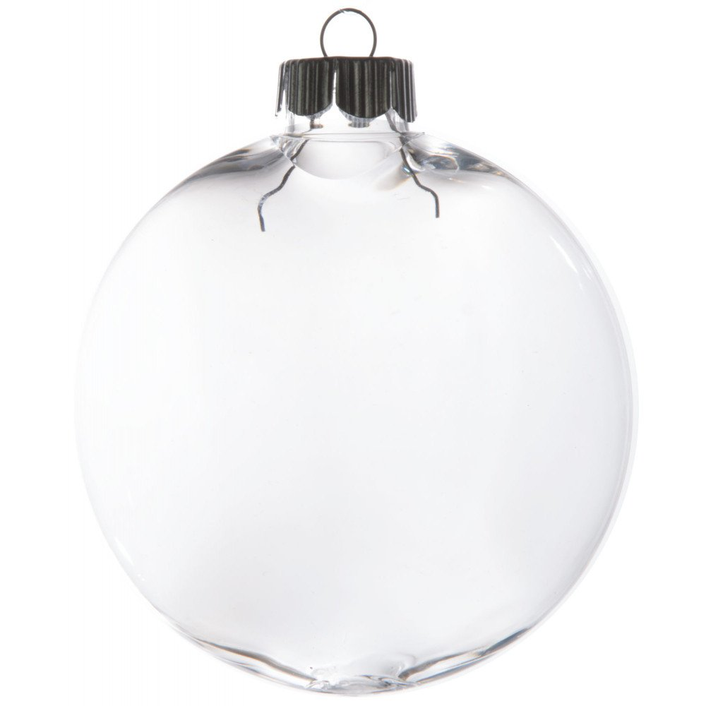 Christmas Ornament Craft Clear Balls : Clear oval ball ornament mm craftoutlet