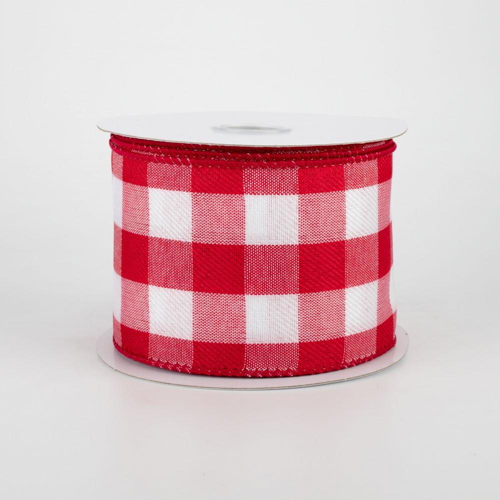 10 x 10yds Yellow /& White Plaid Fabric MeshWreath SuppliesXB99010-22