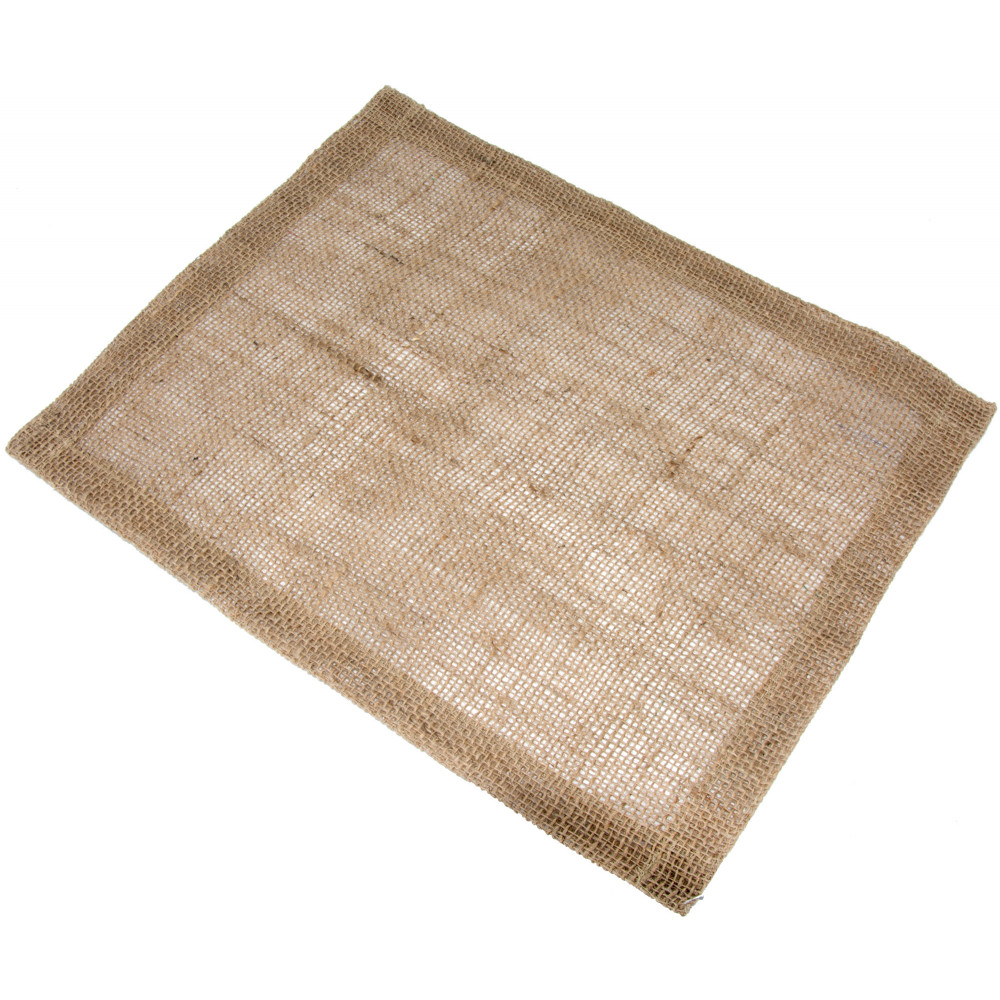 Burlap Placemat With Hemmed Edge (set Of 6)