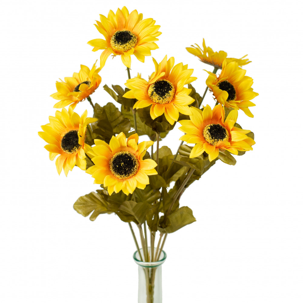 "16"" Mini Sunflower Bush [ISB33710] - CraftOutlet.com"