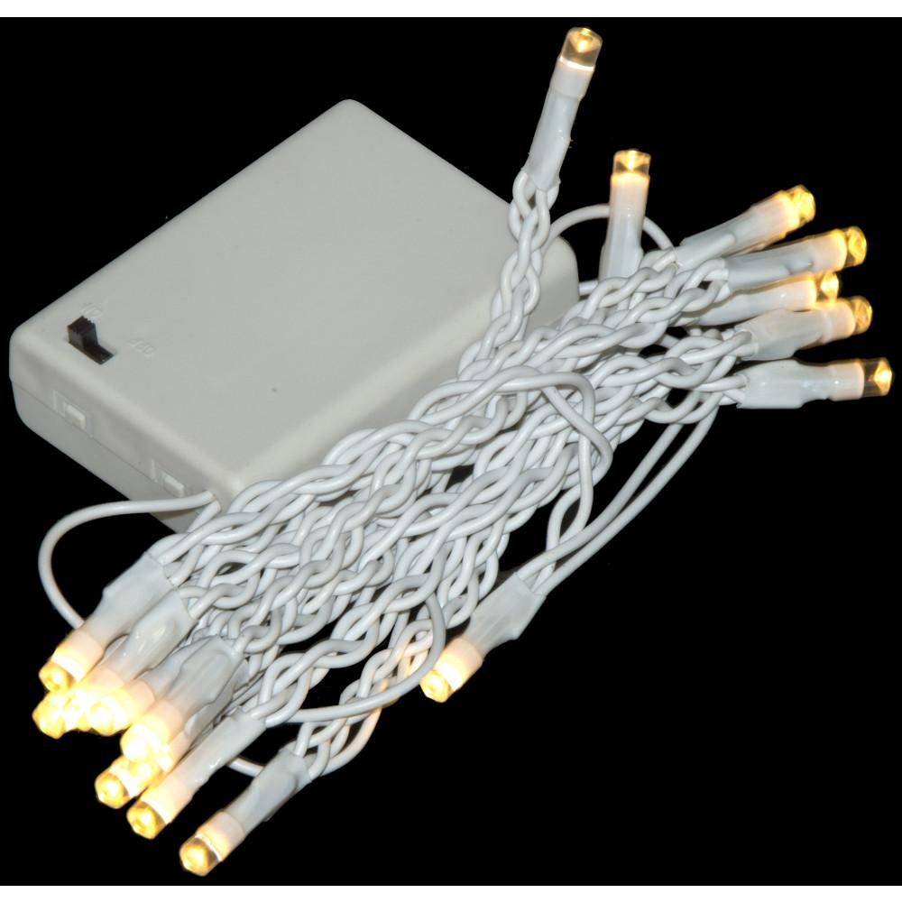 Battery Light Strand: 20 LED Warm White []